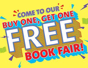 Scholastic BOGO Book Fair – April 13th!
