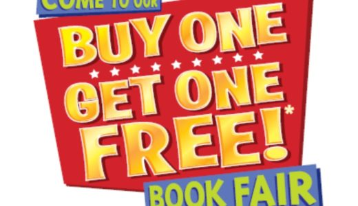 Scholastic BOGO Book Fair – April 11th